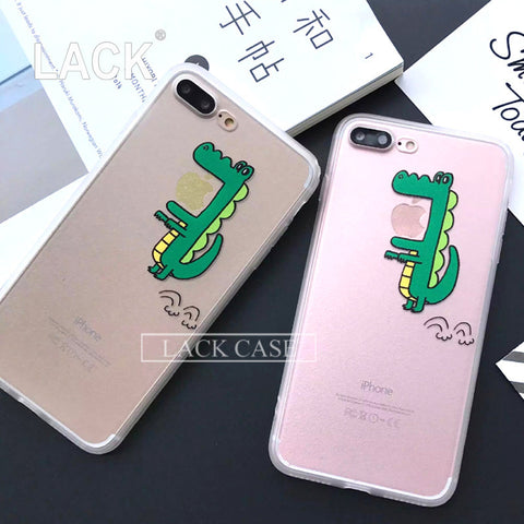 iphone 7 Case For iphone7 6 6S Plus 5 5S Phone Cases Cute Cartoon Back