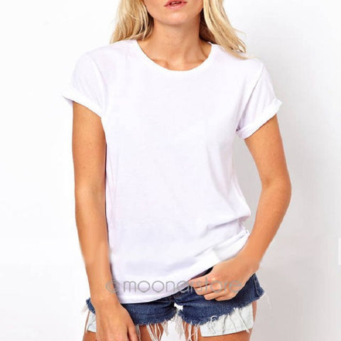 Laser Backless Angel Wings Ladies White Black Short Tops & Tees T-Shirt