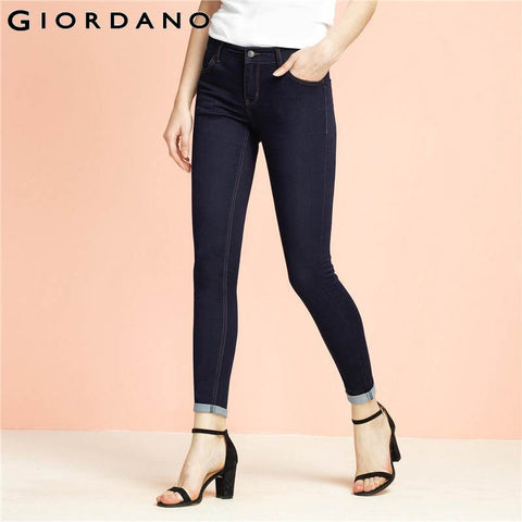 Fit Denim Pants Indigo Femininas Clothing Jean Casual Mujer Stretchy Jeans