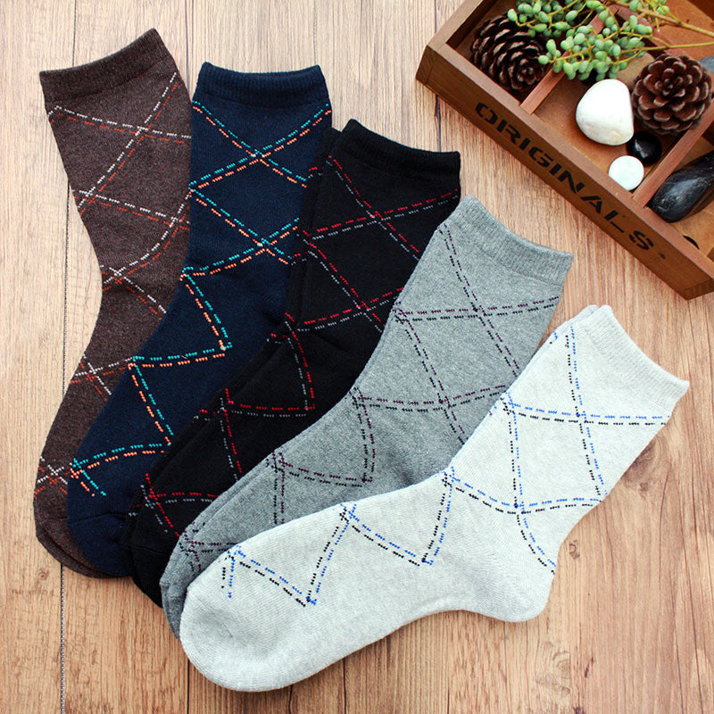 Autumn and Winter New Socks Cotton Men Socks Business Sock