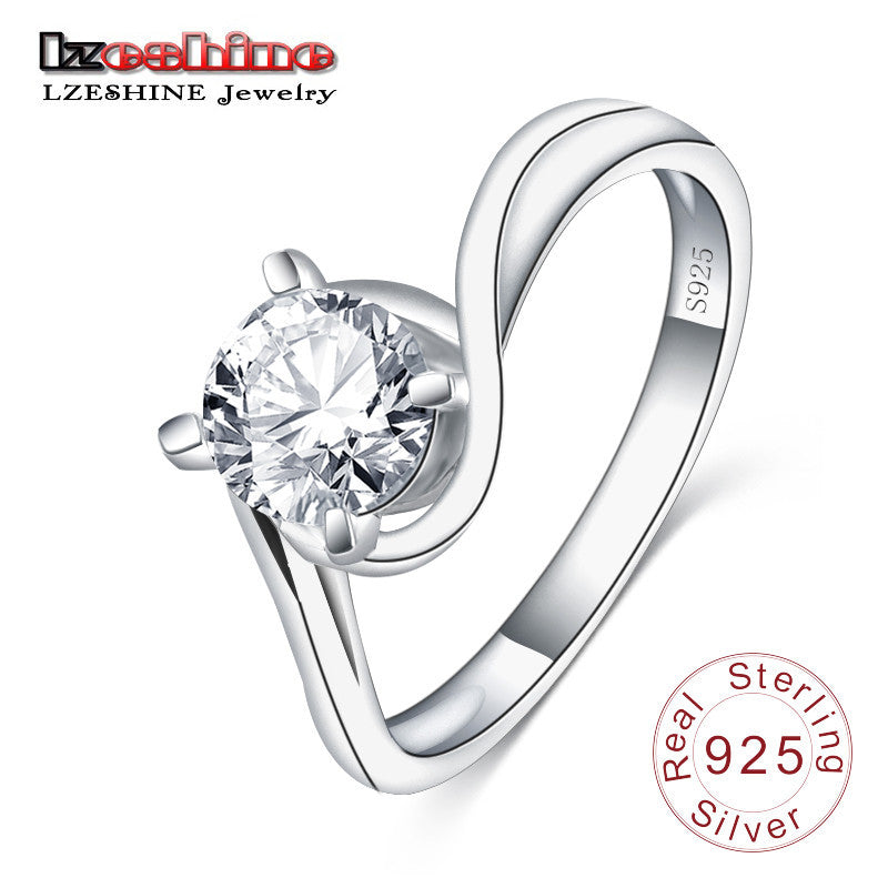 100 925 Sterling Silver Ring Jewelry Have S925 Stamp Created
