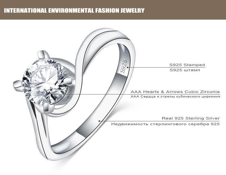 products from sterling real classic rings women wedding ring for jewelry ships carats newshe cz usa silver