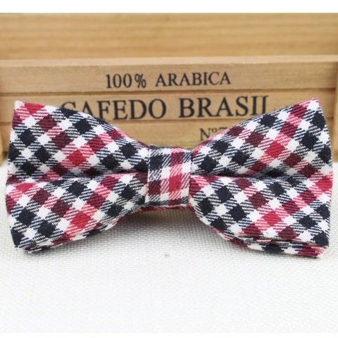 Soft Striped Rainbow Single Fracture Butterfly Men Bow Ties Designer