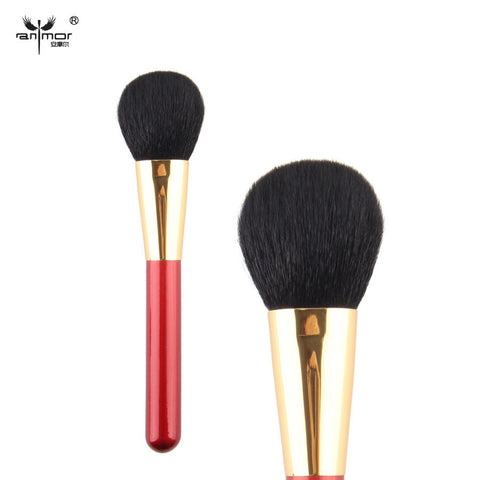 Powder goat hair  Black Brush Single Cosmetics Makeup Brushes