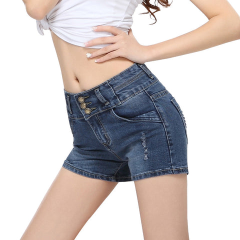 hip denim shorts Fashion sexy short jeans women