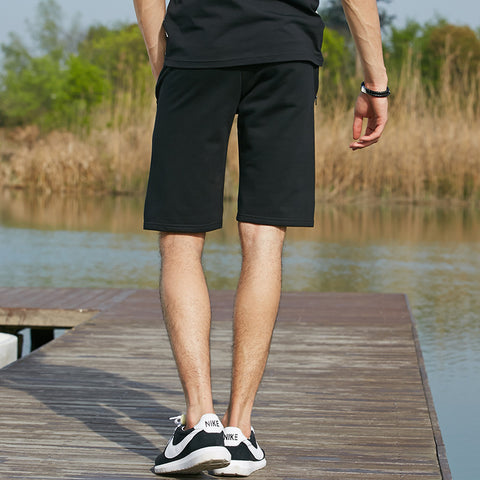 shorts casual beach pants thin  knit male short pants