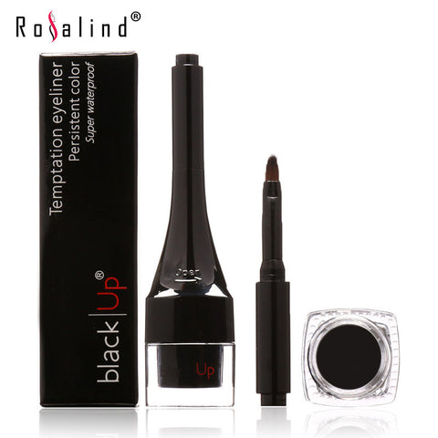 Waterproof Eyeliner Gel Makeup Cosmetic Gel Eye Liner With Brush