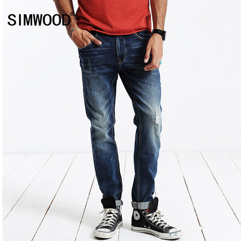 winter new  men Jeans Denim Trousers