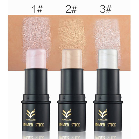 Bronzing Cream Face Makeup Foundations Shimmer Illuminating Highlight