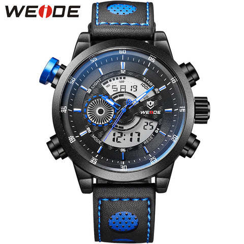 30m Waterproof Running Sport Watches For Men Multifunctional Analog Quartz