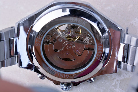 Mens Watches Top Brand Luxury Stainless Steel Sport Watch Montre