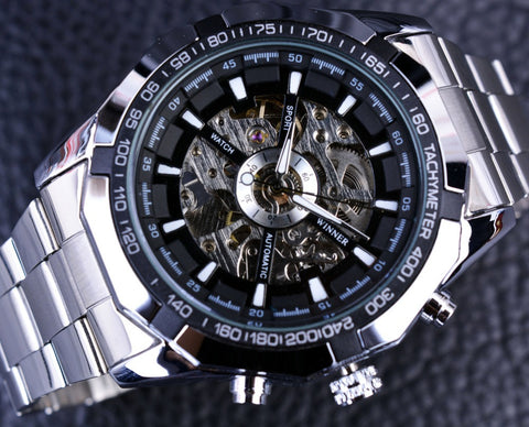 Stainless Steel Designer Men Watch Top Brand Luxury Automatic