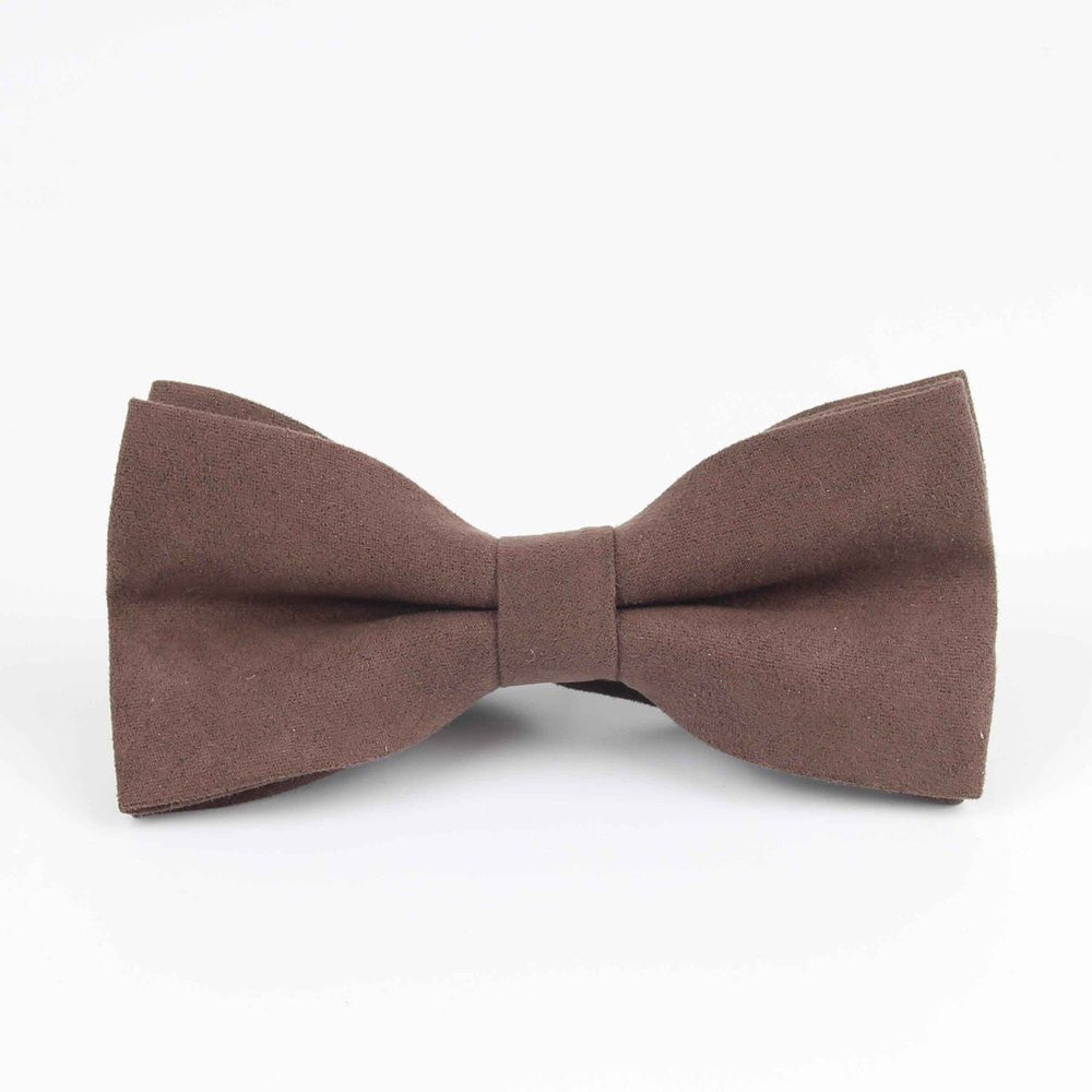Bowties Groom Leather Mens Plaid Soft Cravat For Men Butterfly Gravata
