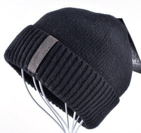 Beanies Cap Casual Solid Color Sets Headgear Hats For Men