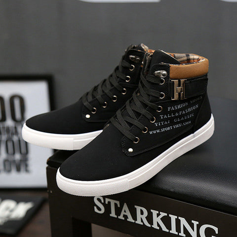 Men Leather Boots Breathable Spring Autumn Summer Fashion Men Shoes