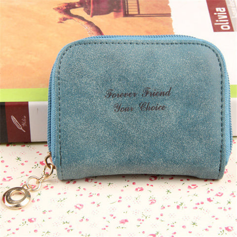Womens Wallets And Purses Cute Mini Wallet Small Candy Color PU Leather Women Coin Purse Carteras Billeteras Para Mujer qb-009