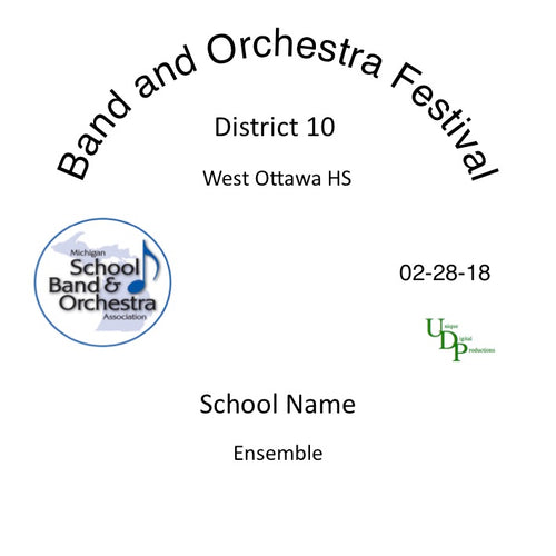 Holland W. Ottawa Macatawa Bay 7th Grade Band