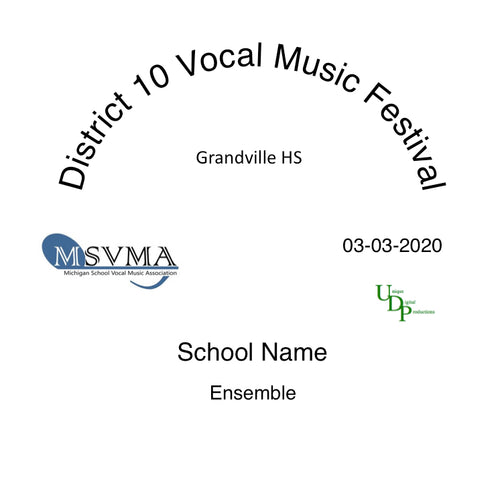 03-03-20 Grandville HS Freshmen Choir Mixed
