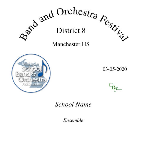 03-05-20 Onsted HS Concert Band
