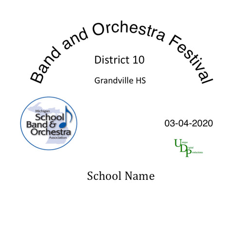 03-04-20 Grandville MS 3rd Hour 8th Grade Orchestra