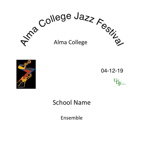 2019 Alma College Jazz Band