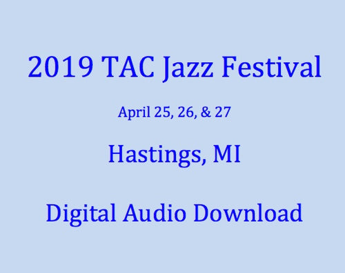 2019 East Lansing HS Jazz Band I