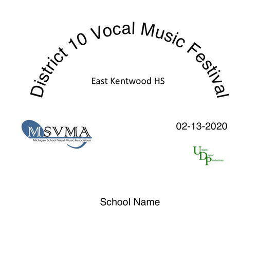 02/13/20 East Kentwood HS Concert Choir