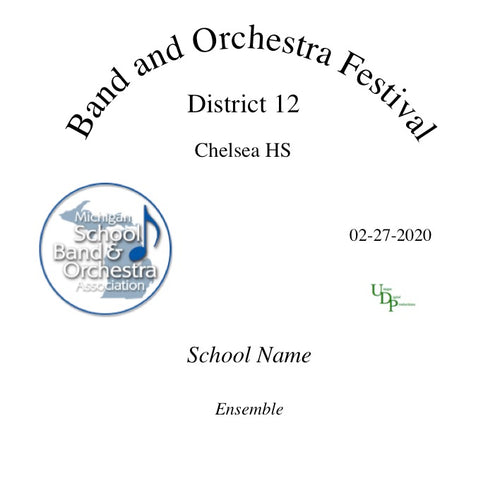 02-27-20 Chelsea HS Symphony Orchestra