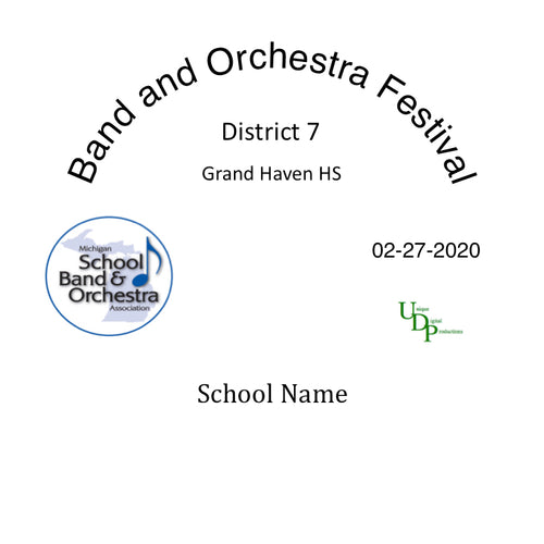 02-27-20 Muskegon Orchard View HS Concert Band