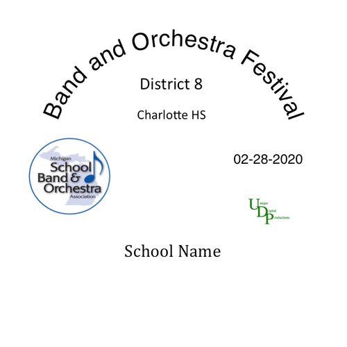 02-28-20 Charlotte MS Seventh and Eighth Grade Band