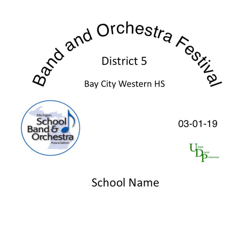 Bay City Western HS Concert Band