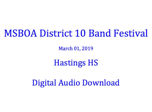 Hastings HS Symphonic Band