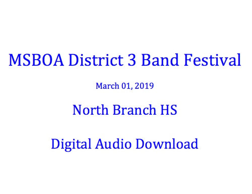 North Branch HS Symphony Band