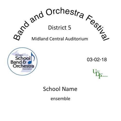 Midland Dow HS Concert Orchestra