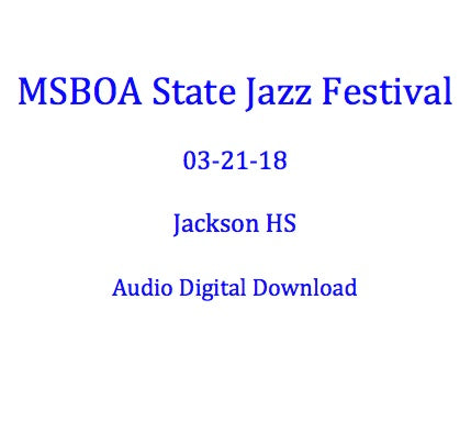 Jackson Parkside MS Jazz Ensemble