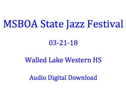 Walled Lake Western Jazz Lab I