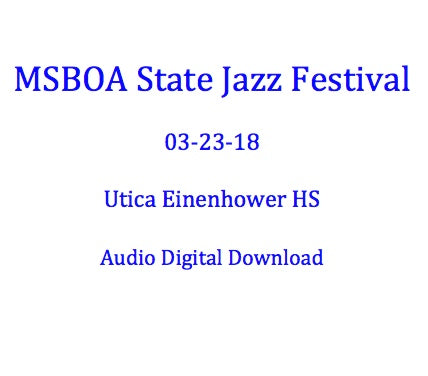 Utica Eisenhower HS Jazz Ensemble