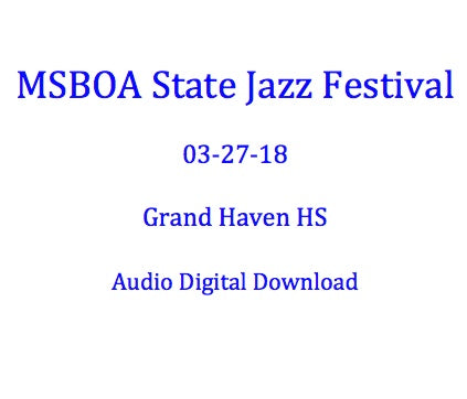Muskegon Mona Shores HS Jazz Ensemble