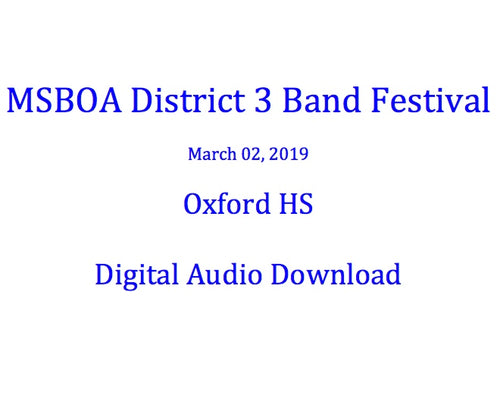 Oxford HS Concert Orchestra
