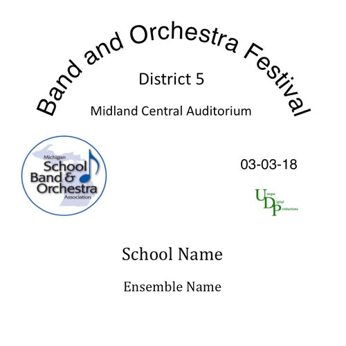 Midland Dow HS Gold Concert Band
