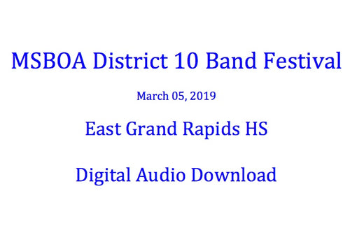 East Grand Rapids HS Concert Band