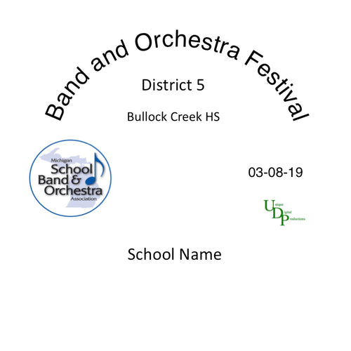Midland Bullock Creek MS 7th Grade Band