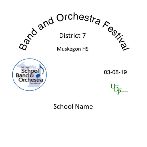 Muskegon Mona Shores MS 8th Grade Band