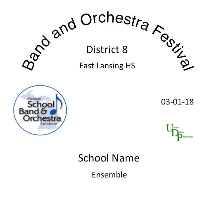 East Lansing MacDonald MS 8th Grade Band