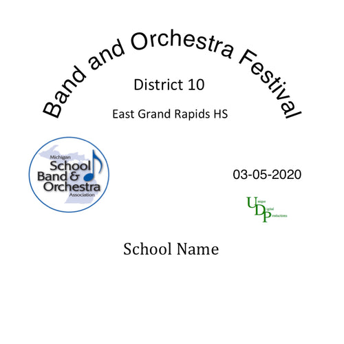 03-05-20 East Grand Rapids HS Symphony Band