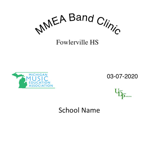 03-07-20 Fowlerville JH 7th Grade Band