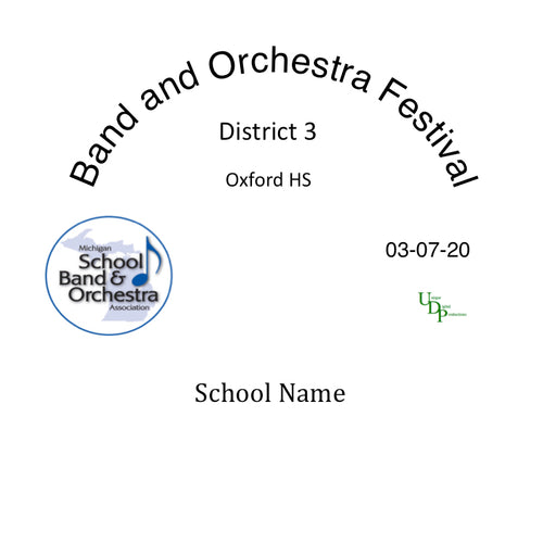 03/07/20 Ortonville Brandon HS Wind Ensemble