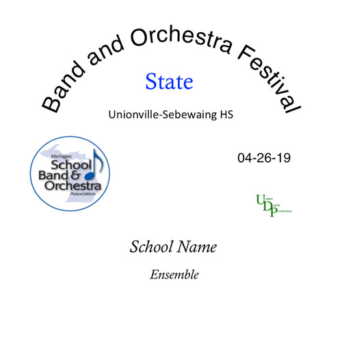 2019 Standish-Sterling HS Concert Band