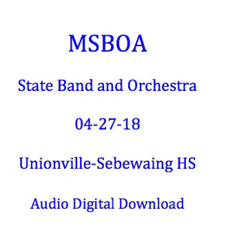 Unionville-Sebewaing Area MS Junior High Band