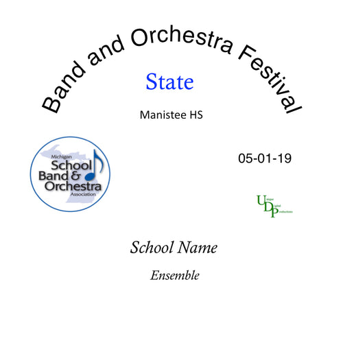 2019 Manistee HS Symphonic Band